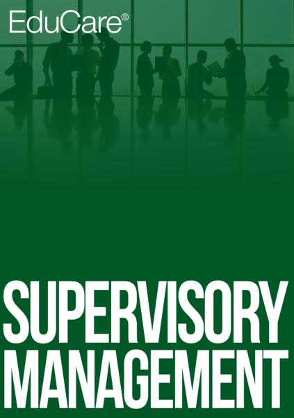 supervisory management Bas in supervision and management prepares graduates for management and leadership roles in a range of organizational settings.