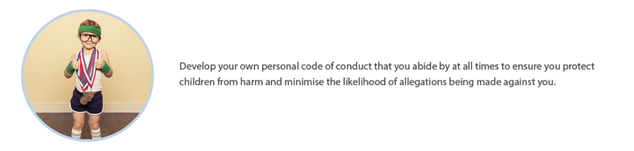 Personal Code of Conduct