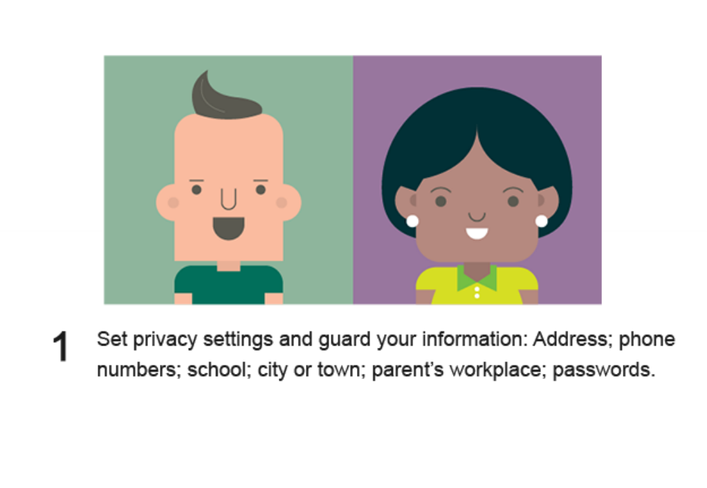 1. Set privacy settings