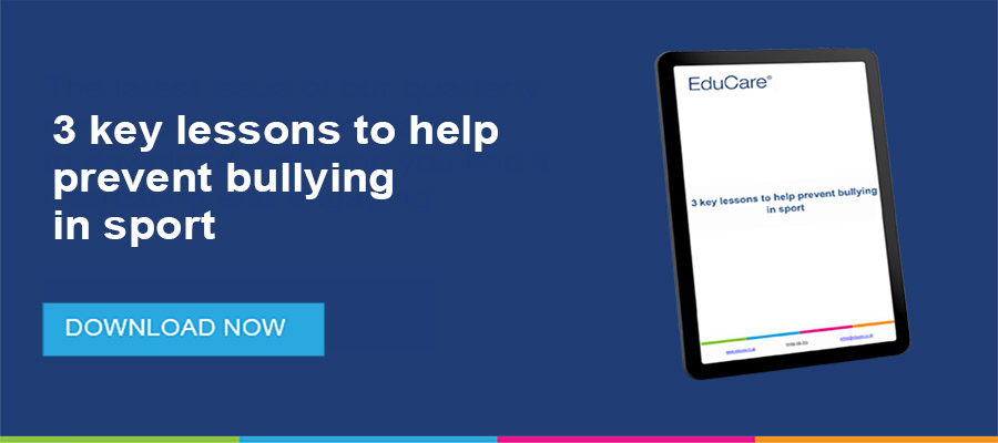 Prevent bully in sport resource