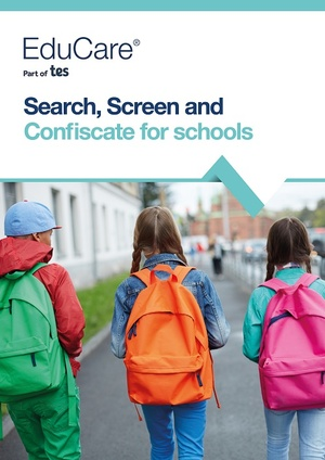 Search, Screen and Confiscate for Schools