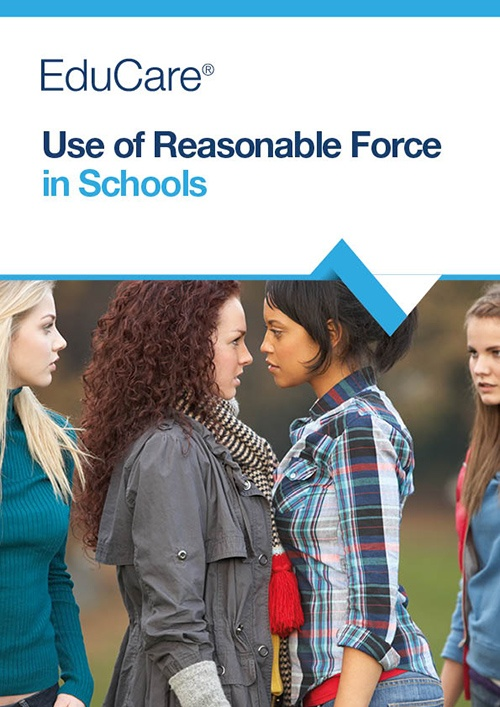 Use of Reasonable Force in Schools