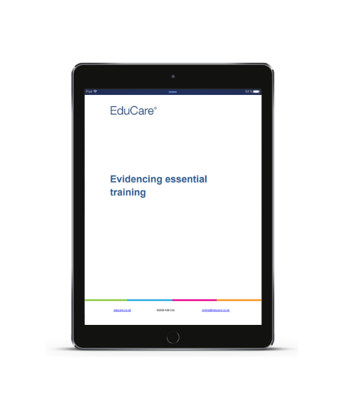 Evidencing Essential Training