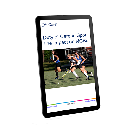 Duty of Care in Sport – The impact on NGBs