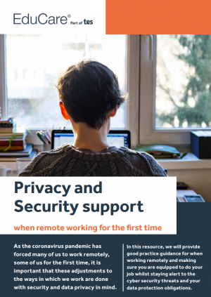 Privacy and security support