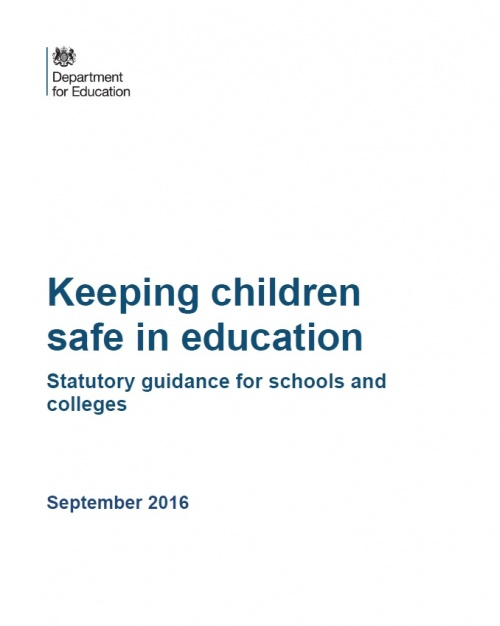 Keeping Children Safe in Education - Revised for September 2016