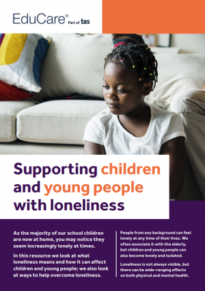 Supporting children and young people with loneliness